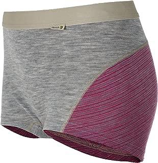 100% Merino Wool Women's Boxer Shorts Machine Washable Made in Norway