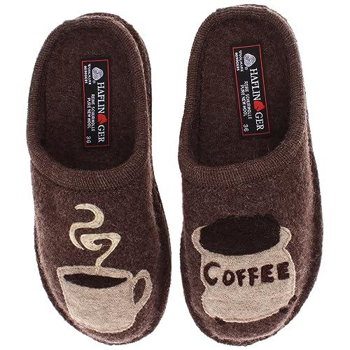 1ece92538249 Haflinger Women s AR Coffee Slipper