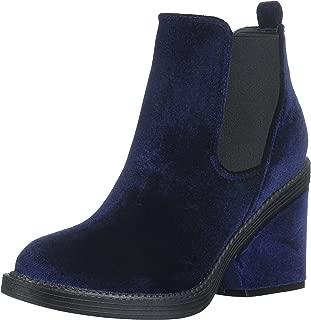 Qupid Women's Velvet Bootie Ankle Boot