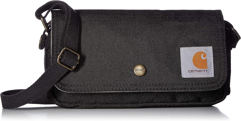 Carhartt Legacy Women's Essentials Crossbody Bag and Waist Pouch, Black