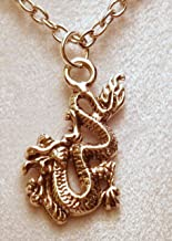 1 Inch Asian/Chinese Fire Breathing Dragon Necklace 715