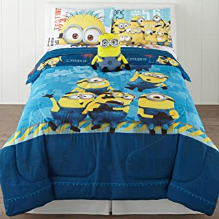 Dreamwords Despicable Me Comforter - Twin-Full Minions Bedding