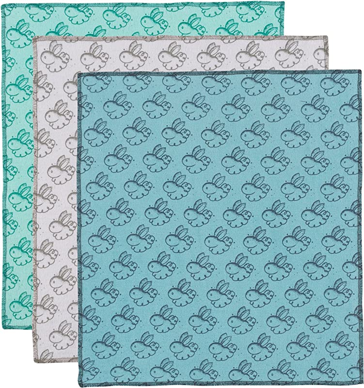 Now Designs 2104001 Bunny Dusting Cloth Set 3 Piece