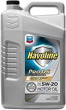 Havoline PRO DS Full Synthetic 5W20 Oil, 5 quart