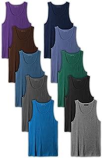 Men's 10-Pack Color A Shirt Tank Top Undershirts