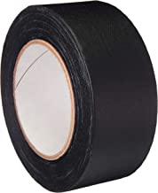 AmazonBasics No Residue, Non-Reflective Gaffers Tape - 2 Inch x 90 Feet, Black