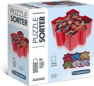 Clementoni- Trieur de pièces de Puzzle- 37040