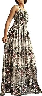 Women Long Maxi Plus Size Dresses Evening Party Boho Prom Floral Vintage Look