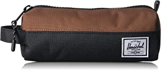 Herschel Unisex-child-Child Pouch Settlement Case, Black/Sadlle Brown - 10071-02696-OS,10071-02696-OS, Shoe Care & Accessories