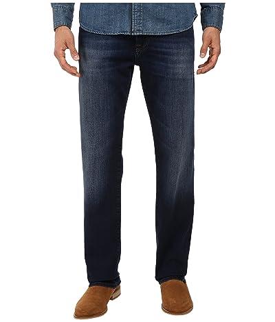 Mavi Jeans Zach Classic Straight in Dark Brushed Williamsburg (Dark Brushed Williamsburg) Men