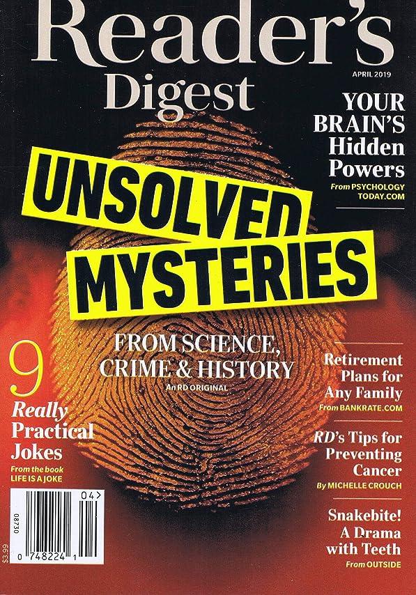 決済モーション両方Reader's Digest (US) [US] April 2019 (単号)