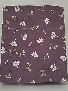 Linen Superstore Ultra Soft 4 PC Queen Waterbed Sheet Set Free Stay Tuck Poles - Purple Iris