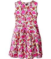 Oscar de la Renta Childrenswear - Blossom Sketch Dress (Toddler/Little Kids/Big Kids)
