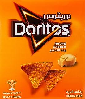 Doritos Nacho Cheese Tortilla Chips 23gm x 12