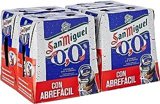 San Miguel Cerveza Sin Alcohol - Paquete de 24 x 250 ml -