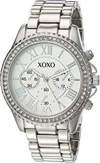 XOXO Womens Quartz Watch, Analog Display and Stainless Steel Strap XO5936AZ