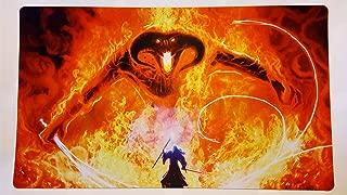 Gandalf vs Balrog lotr Lord of the rings TCG playmat, gamemat 24
