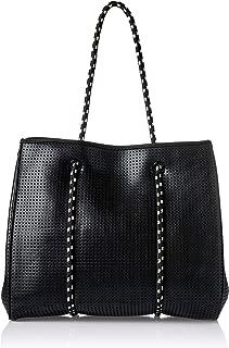 Prene FRE-MET-BLA Tote Bag, Metallic Black