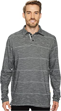 Quiksilver Waterman - Home Team Long Sleeve Polo