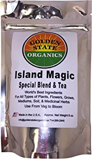GSO Island Magic Blend- World's Best Guano's,Meal's, Mycos, Minerals, Bio Char, Castings. Extremely Beneficial For Growing All Types Plants, Veg's & Medicinal Herbs. For All Types of Growing Mediums.