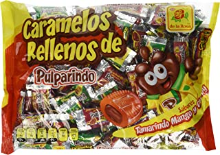 Pulparindo Carmelos Con Relleno Chamoy Mango Tamarindo Mexican Candy 100 Pcs