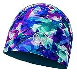 Buff Unisex Microfiber Reversible Hat Buffür-flected Turquoise - Blue Mütze, R
