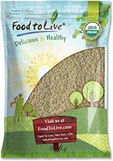 Organic Long Grain Brown Rice, 8 Pounds — Non-GMO, Raw, Non-Irradiated, Kosher, Vegan, Bulk