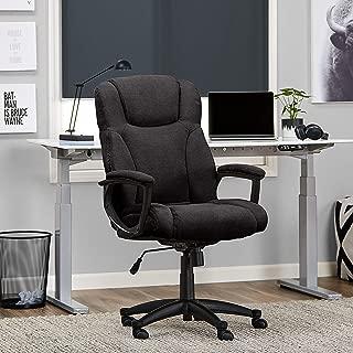 Serta Style Hannah II Office Chair, Microfiber, Black