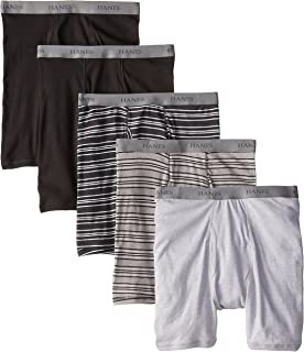 Men's 5-Pack Assorted Striped Boxer Briefs