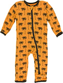 KicKee Pants Print Coverall with Zipper | Paleontology Collection |