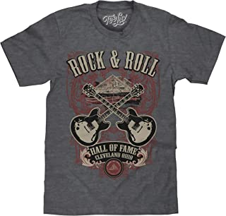Rock and Roll Hall of Fame T-Shirt - Rock Guitar Graphic Tee Shirt