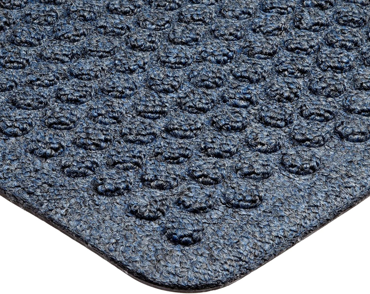 Notrax 150 Aqua Trap Entrance Mat, for Main Entranceways and Heavy Traffic Areas, 3' Width x 5' Length x 3 8  Thickness, Slate bluee