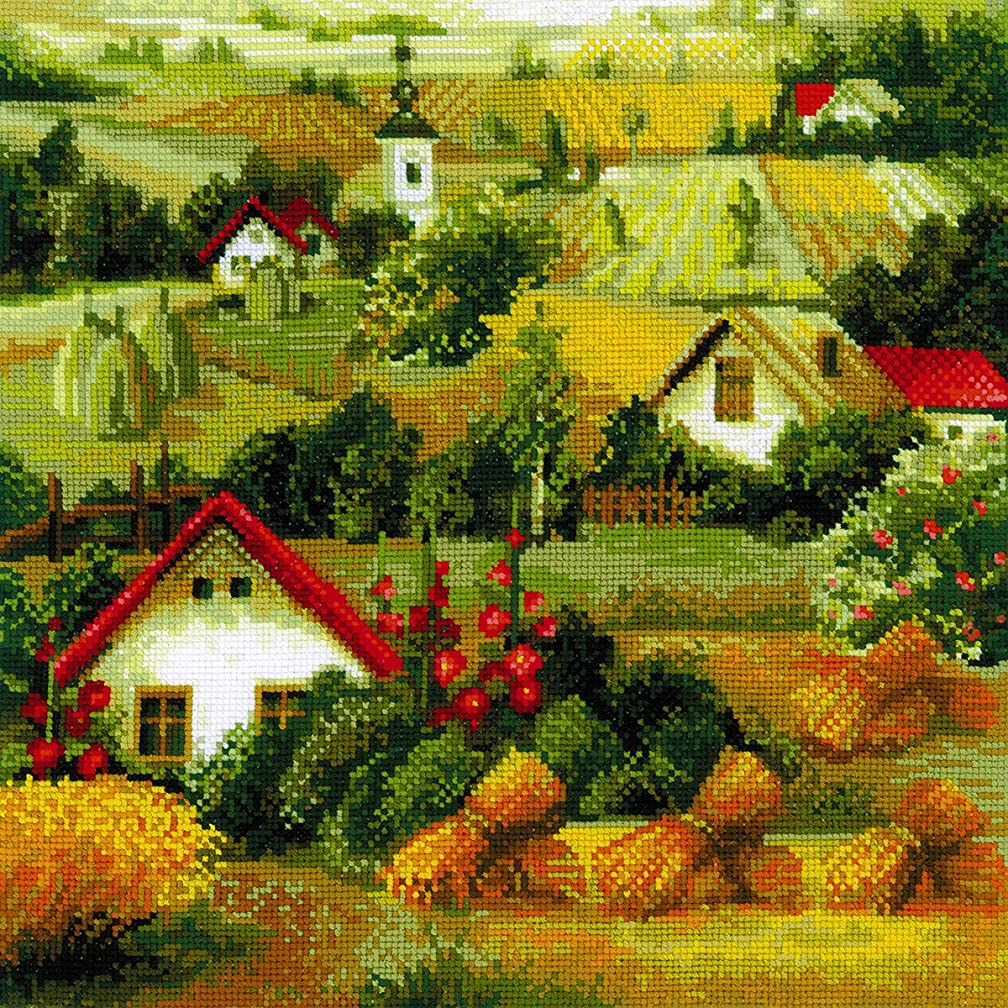 RIOLIS 1569 - Serbian Landscape - Counted Cross Stitch Kit 15?