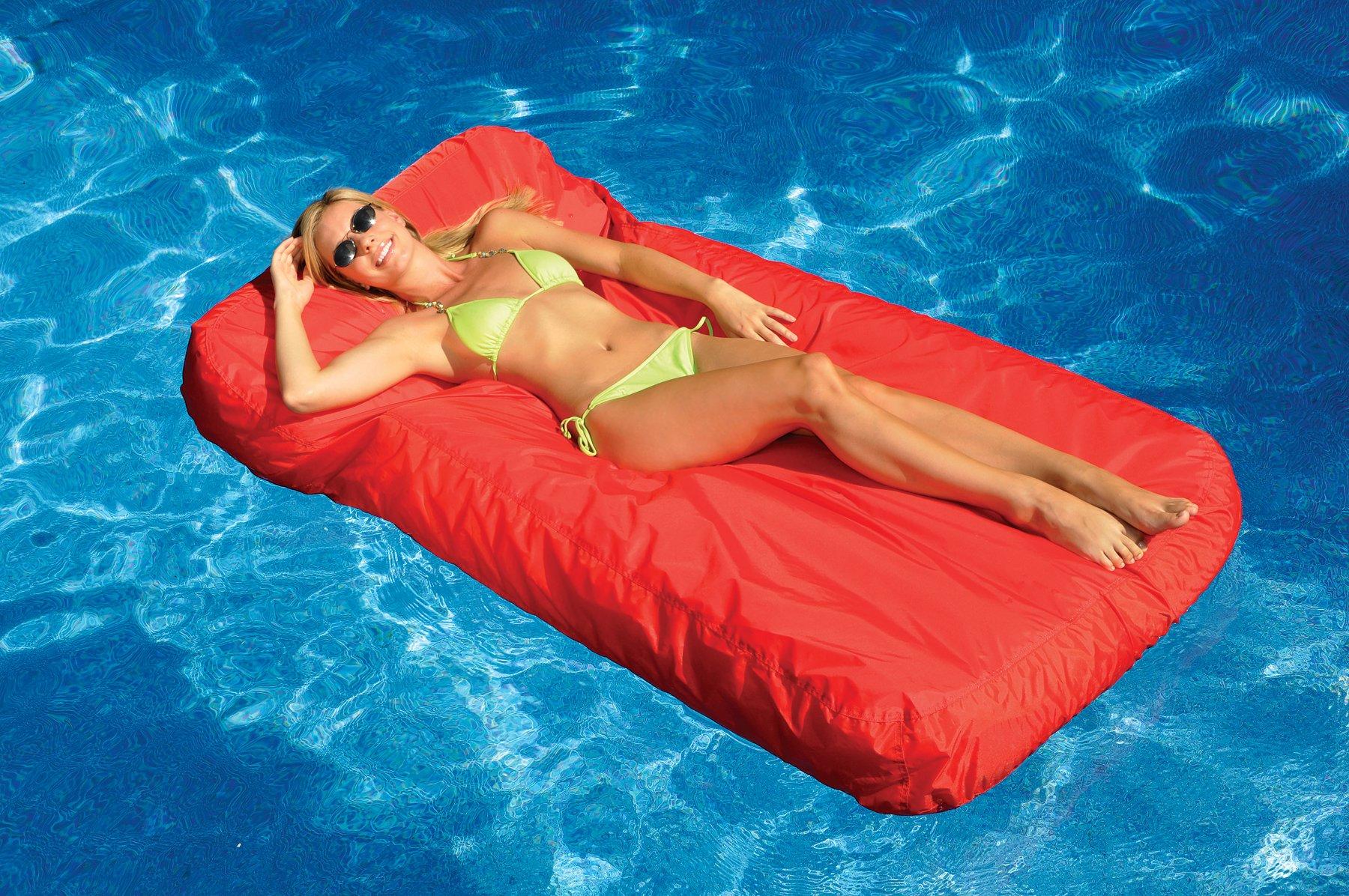 Swimline 15030R Sunsoft Mattress Red