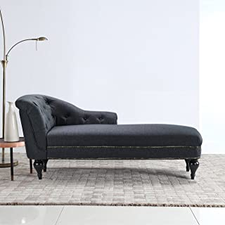 Amazon.com: Linen - Chaise Lounges / Living Room Furniture ...