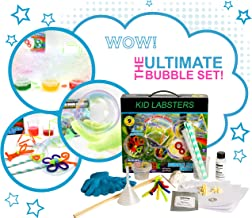 New! Bubble Making Science Kit for Kids | 9 Educational and Fun Activities | Colorful Bubbles and Wands