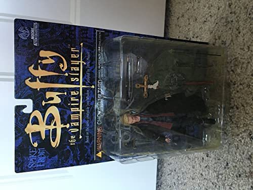 Buffy The Vampire Slayer - Vampire Face SPIKE - James Marsters - Fandom Exclusive 6 Action Figure (2000 Clayburn Moore) by Buffy the Vampire Slayer