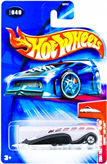 Hot Wheels 2004 First Edition Crooze Low Flow 49/100 #049 #49 SILVER Bus 1:64 Scale