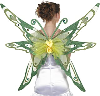 amscan Woodland Fairy Wings Halloween Costume Accessories for Adults, One Size