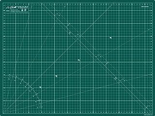 La Canilla ® - Tapis de Découpe avec surface d'auto-guérison A2 (60x45cm) Plaque de Découpe, Planche à Découper Centimètre...