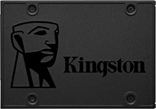 "Kingston 480GB A400 SATA 3 2.5"" SSD Interno SA400S37/480G - sustituto de disco duro para mayor rendimiento"