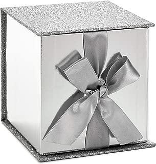Hallmark 5EBC1208 Signature Box, Small, Silver Glitter