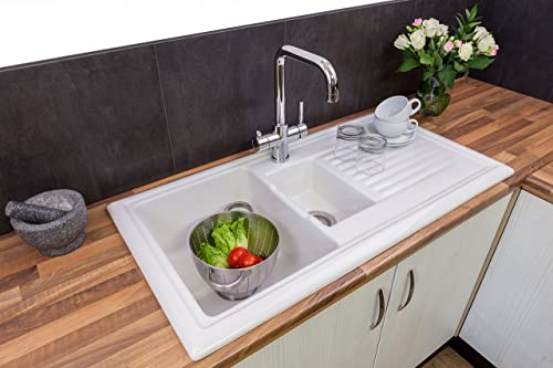 Top Rated In Kitchen Sinks And Helpful Customer Reviews Amazon Co Uk