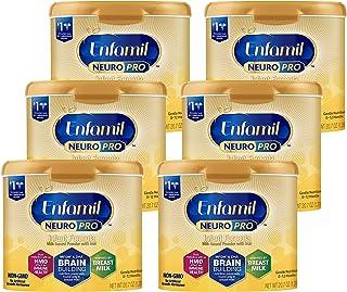 Enfamil NeuroPro Baby Formula Milk Powder 20.7 oz (Pack of 6) Reusable Tub, Dual Prebiotics for Immune Support, Infant Formula Inspired by Breast Milk, Brain Building DHA & MFGM, Iron, Non-GMO