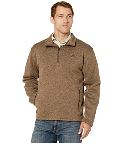 Ariat Caldwell 1/4 Zip Sweater (Fossil) Men
