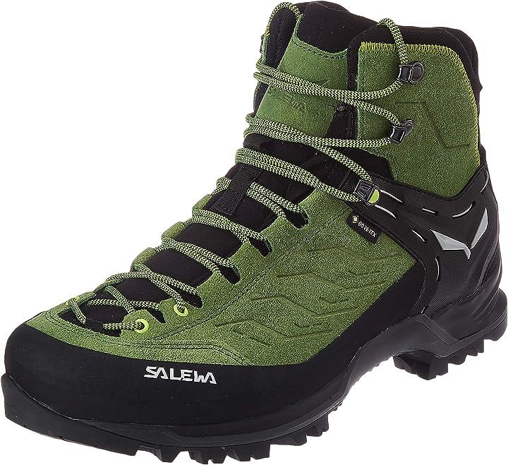 Scarponi da trekking e da escursionismo uomo salewa ms mountain trainer mid gore-tex 00-0000063458