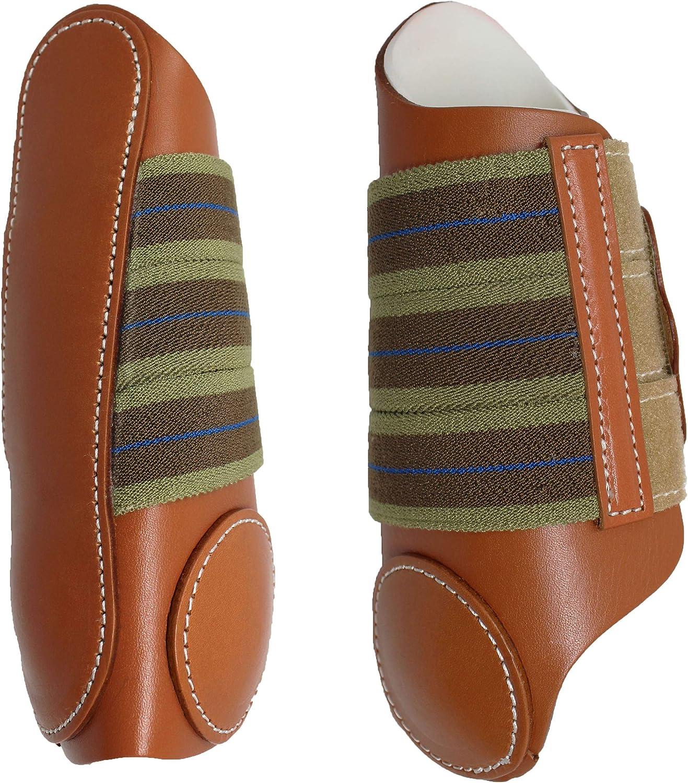 Horse Medium Horse Size Professional Leather Sports Medicine Splint Boots Amish Made USA Tack 4101