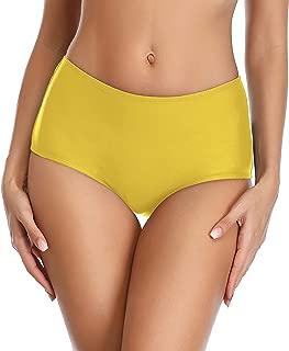 Lanmiya High Waisted Bikini Bottom Swim Brief Tankini