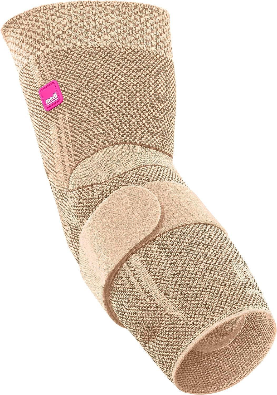 Medi Max 83% OFF Epicomed Elbow Support w Pressure Accu Ranking TOP11 Sand Insert Silicone