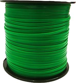 PepperellクリアシリーズプラスチッククラフトRexlace 100ydスプール グリーン RX100